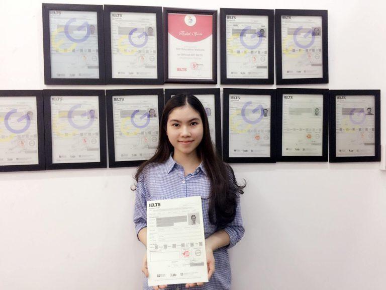 Học viên Nguyễn Ái Vy – 6.5 IELTS