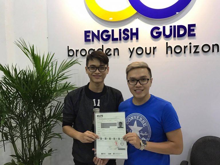 Học viên Nguyễn Phước Duy Thiên – 6.5 IELTS