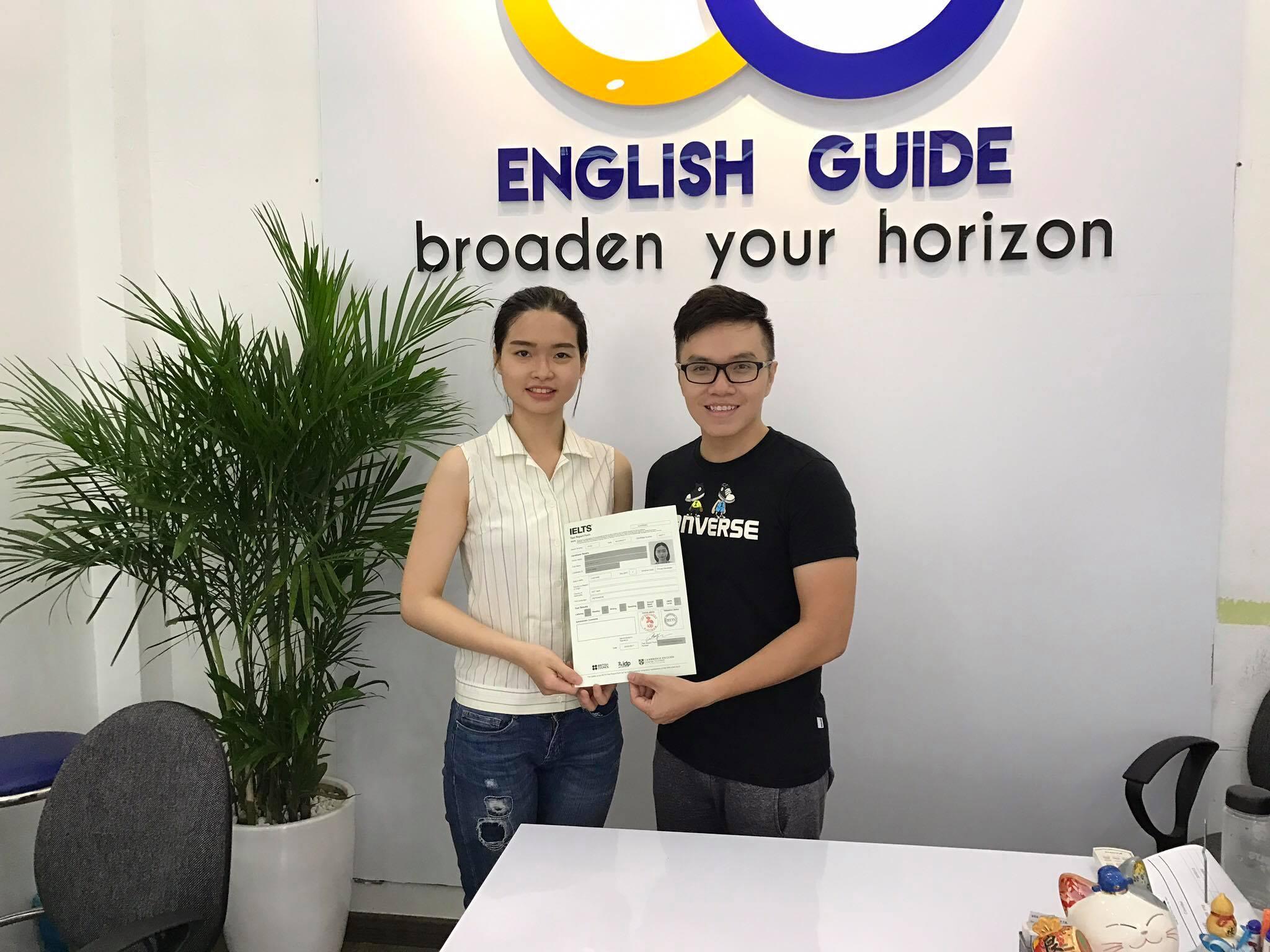 Học viên Nguyễn Thị Diệu Linh – 7.5 IELTS