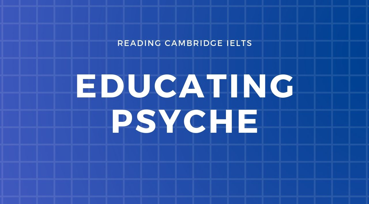 [Reading Cambridge 7]: Educating Psyche