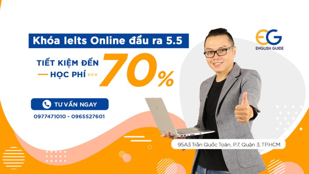 Khóa Online Ielts 5.5