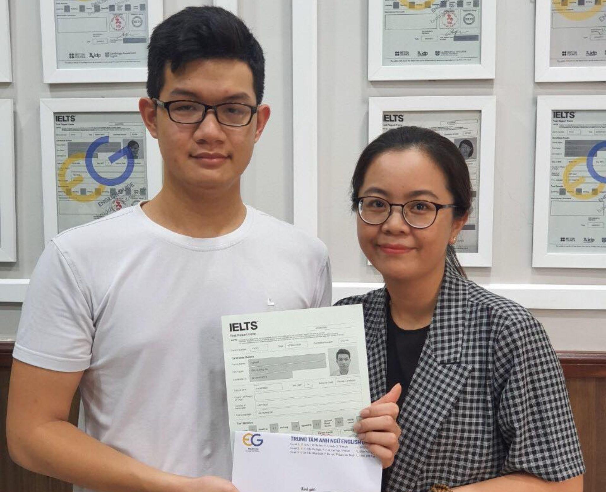 Học viên Hoàng Gia Quang An – 6.5 IELTS
