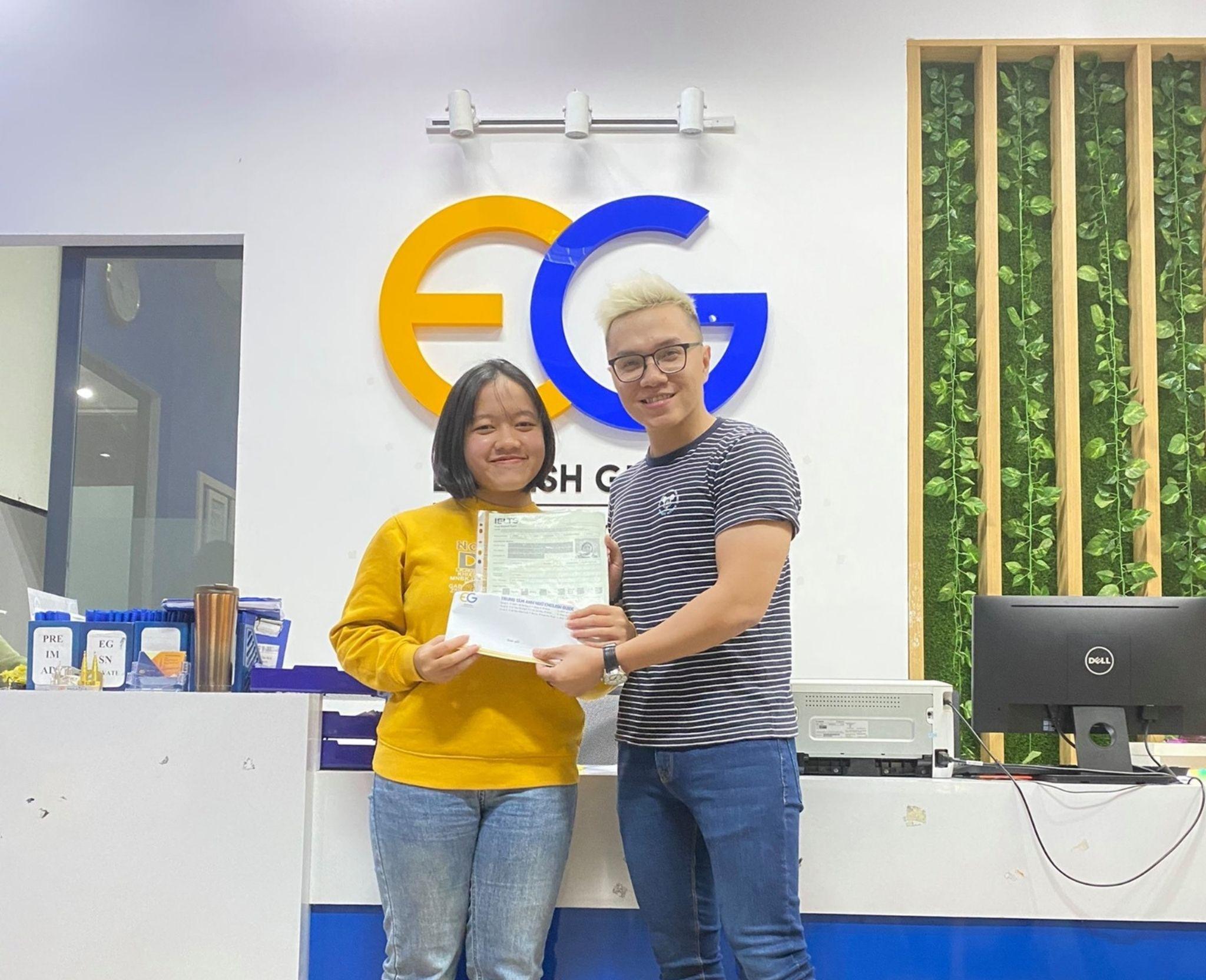 Học viên Nguyễn Thị Thủy Tiên – 6.5 IELTS