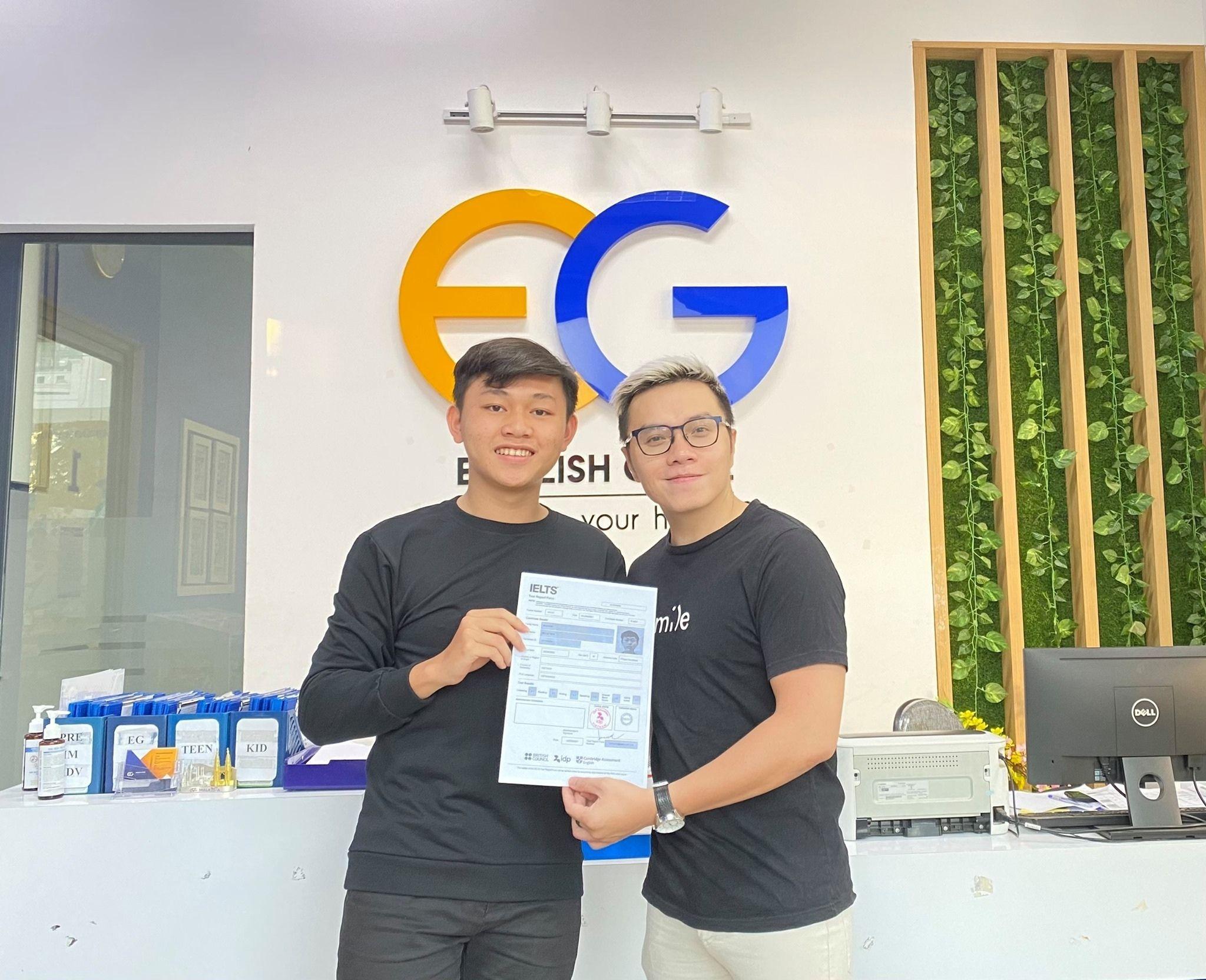 Học viên Nguyễn Kế Lê Tiến – 7.5 IELTS